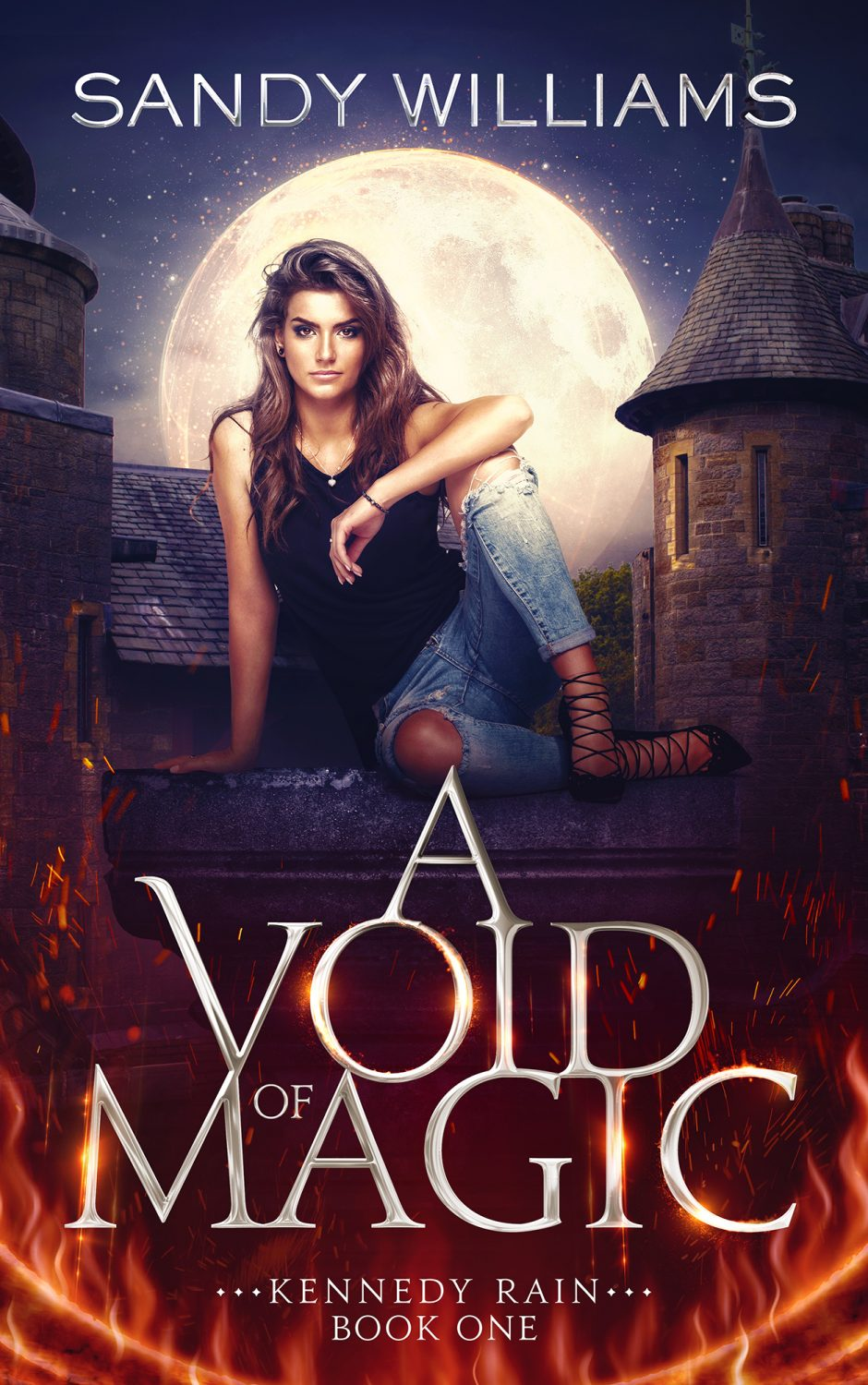 A Void of Magic Cover Art